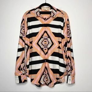 Mara Hoffman Geometric Print Button Down